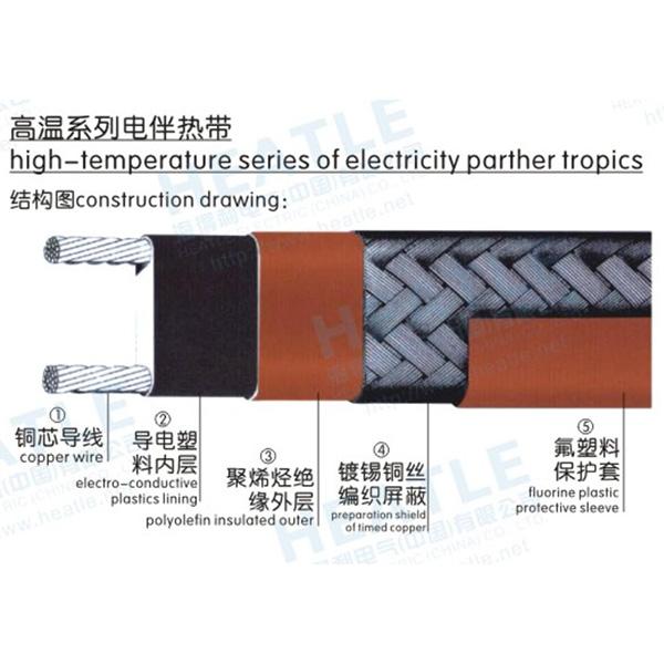 高温系列电伴热带